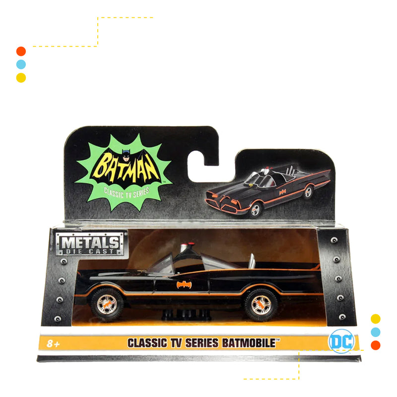 Vehiculo Metals Batimovil Clasico 1966 con Batman Es