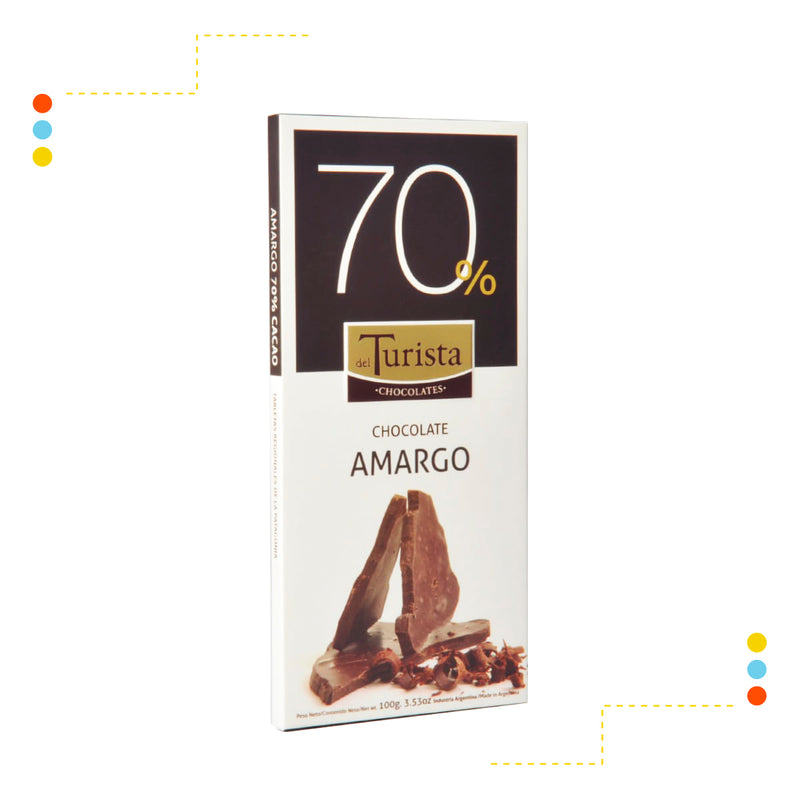 Tableta Chocolate Amargo 70%