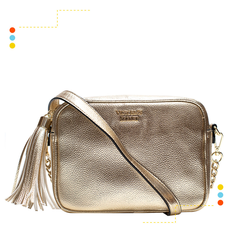 Cartera Crossbody Gold
