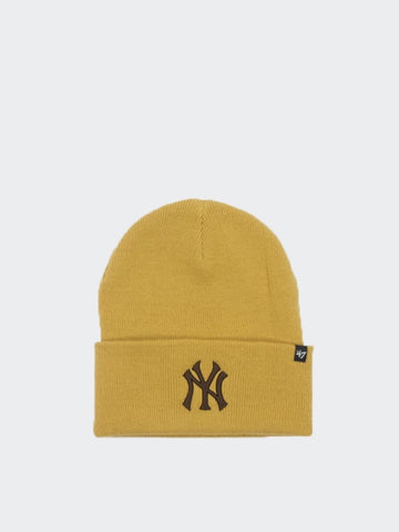 47 Brand NY Yankees Haymaker Cuff Knit Wheat