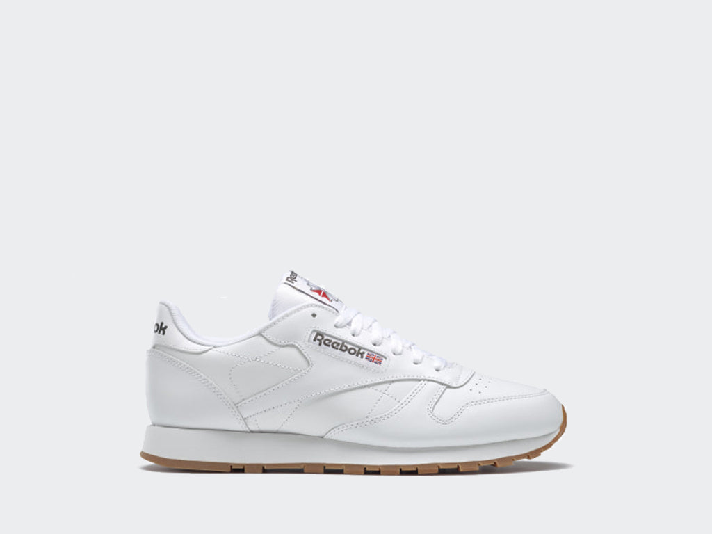 Reebok CL Leather White Gum 49799