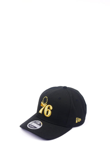 New Era 950OF Philadelphia 76ers Black/Gold 11949126