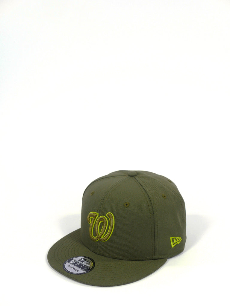 New Era 950 Washington Nationals Olive/Lime 70478114