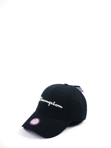 Champion Classic Twill Hat Black Z1029