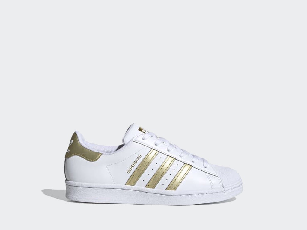 Adidas Superstar W White/Gold FX7483