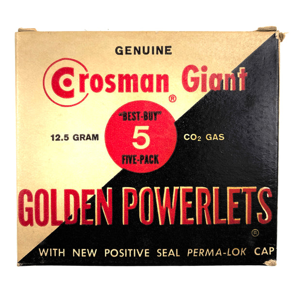Crosman Giant Golden Powerlets (sold by private seller fulfilled by D&L)