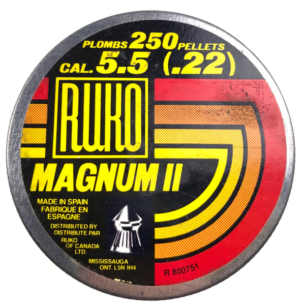 Ruko Magnum ll Pellets (sold by private seller fulfilled by D&L)