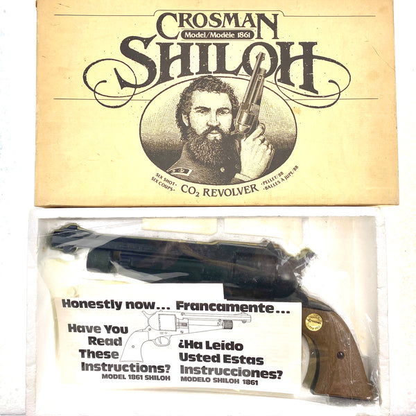 Crosman 1861 Shiloh .177 (325B) (sold by private seller fulfilled by D&L)