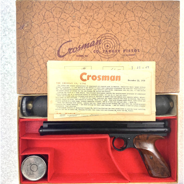 Crosman 112 .22 (185) (sold by private seller fulfilled by D&L)