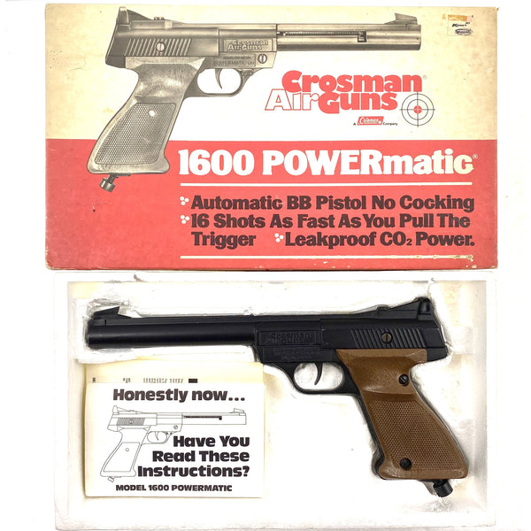Crosman 1600 Powermatic BB (339) (sold by private seller fulfilled by D&L)