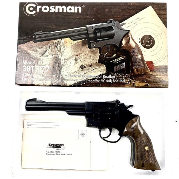 Crosman 38T .177 (9) (sold by private seller fulfilled by D&L)
