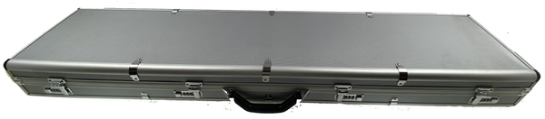 Aluminum combo lock Scoped rifle/shotgun case (sold by private seller fulfilled by D&L)