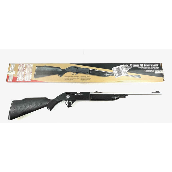 Crosman Mod 66 Powermaster Medalist .77/BB (128) (sold by private seller fulfilled by D&L)