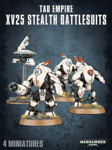 Tau Empire XV25 Stealth Battlesuits - 7th Circle Store -  - 7th Circle Store