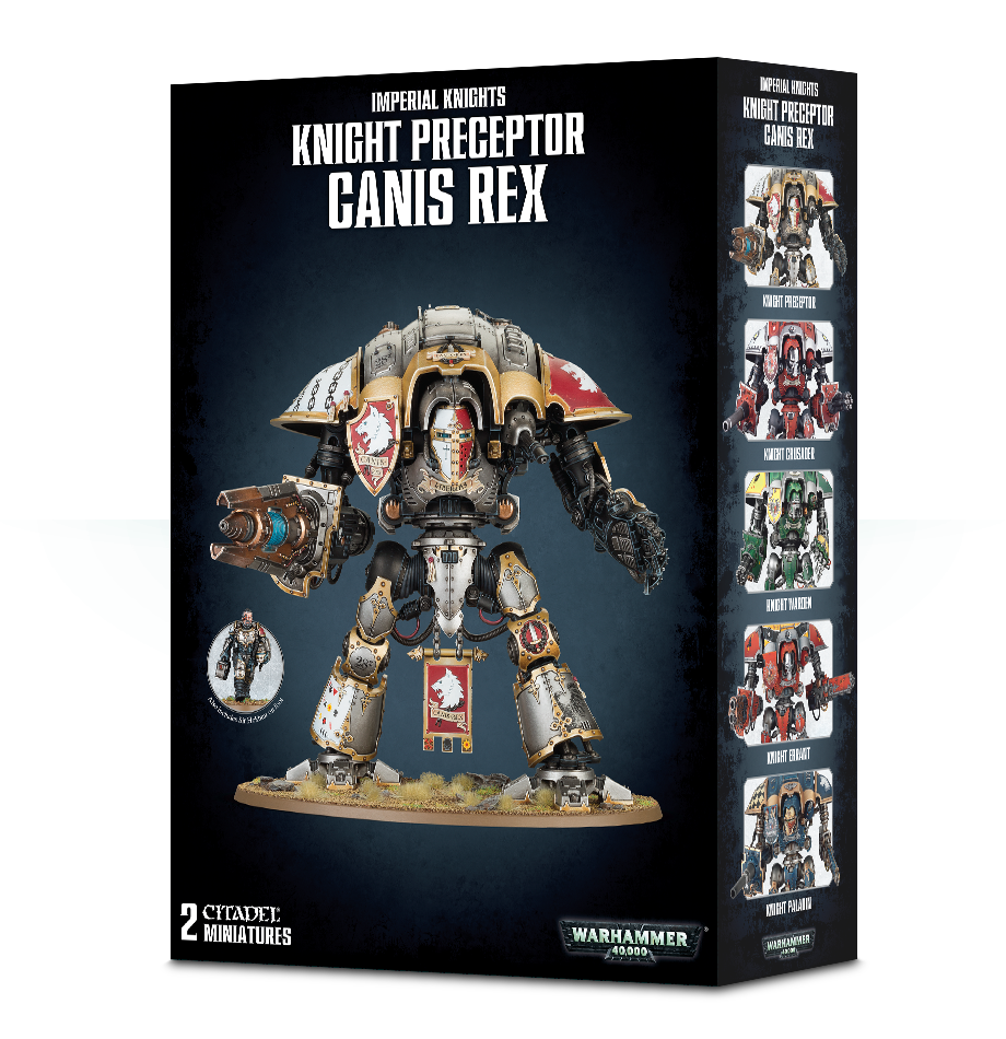 Knight Preceptor Canis Rex - 7th Circle Store -  - 7th Circle Store