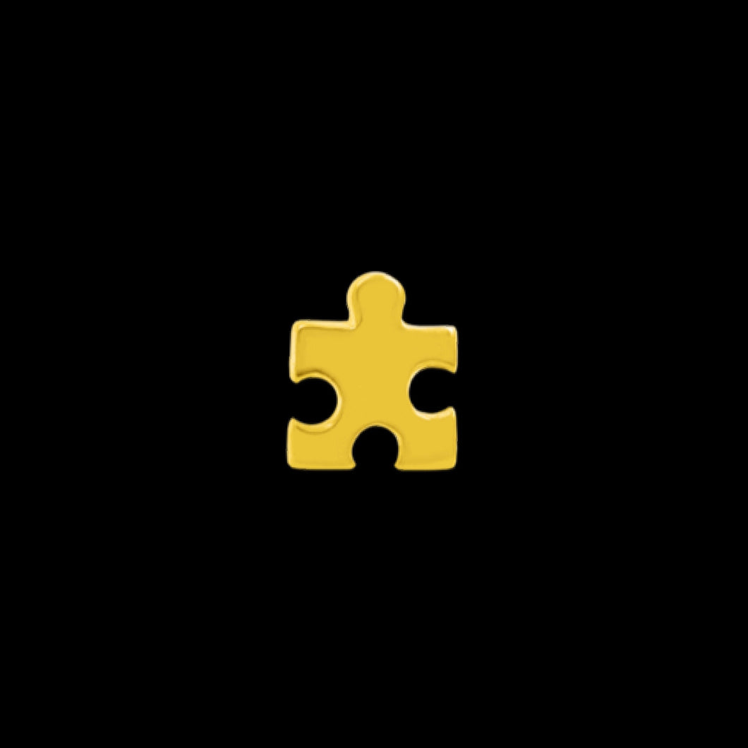 JUNIPURR JEWELRY GOLD PUZZLE PIECE - 7th Circle Store - Body jewellery - Junipurr jewellery