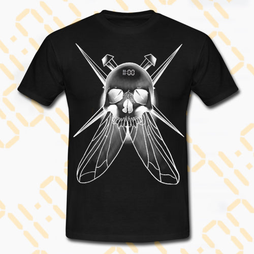 Negative Death-Fly T-Shirt 11am - 7th Circle Store - Men's Clothing - 7th Circle Store