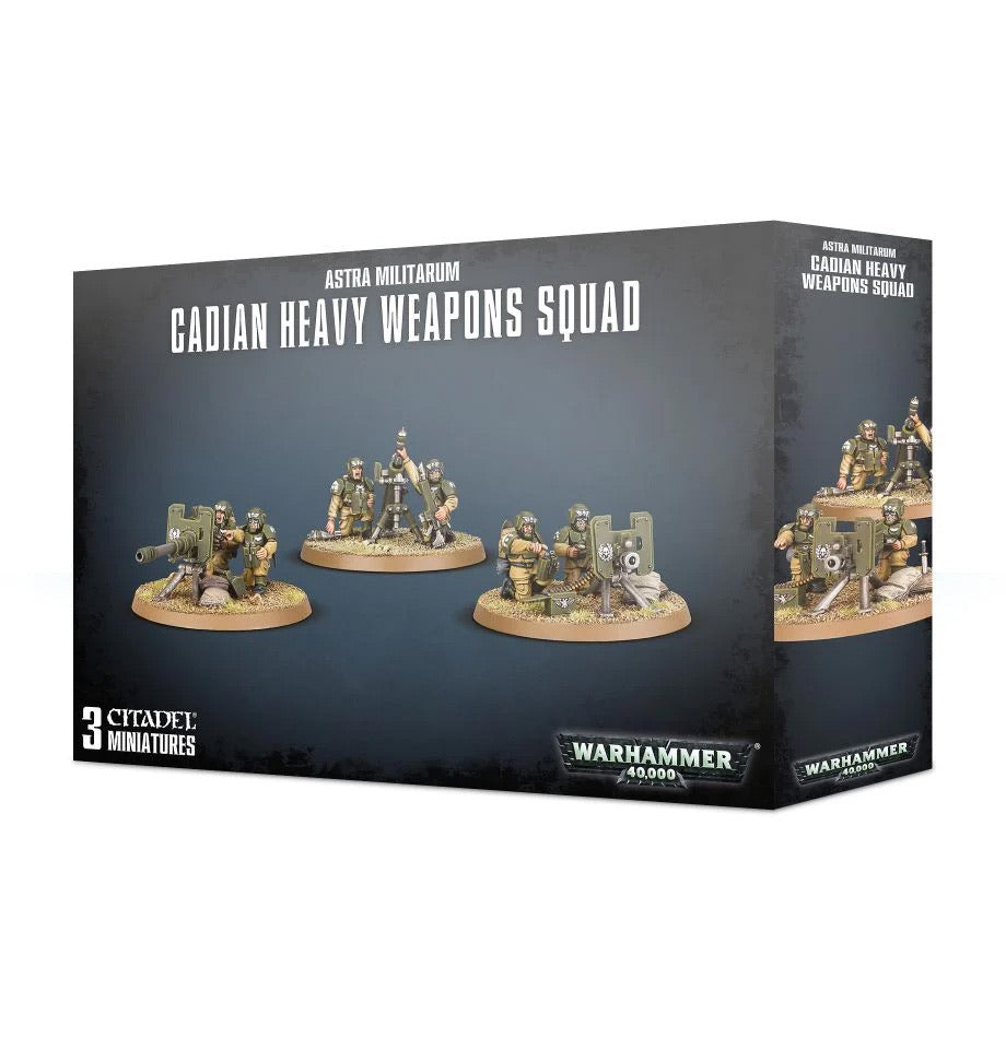 Astra Militarium Cadian Heavy Weapons Squad - 7th Circle Store -  - 7th Circle Store