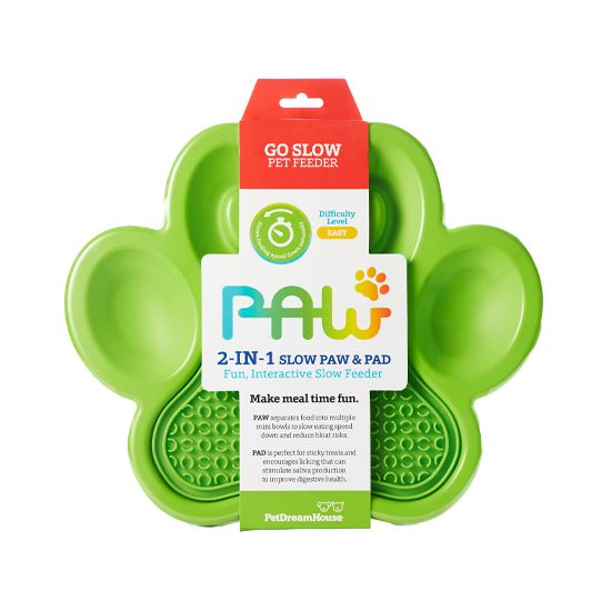 PAW 2-in-1 Slow Paw & Pad