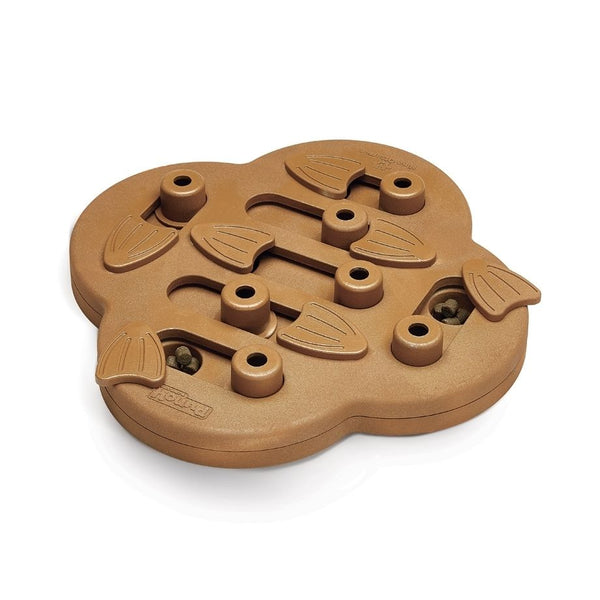 Nina Ottosson Dog Hide N Slide Interactive Toy  Wooden Composite