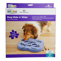 Nina Ottosson Dog Hide N Slide Interactive Toy  Purple Composite