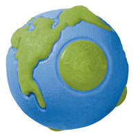 Planet Dog Orbee-Tuff Planet Ball  Blue & Green