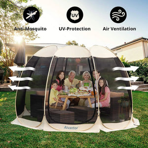 Sunscreen House Outdoor Pop Up Canopy Tent