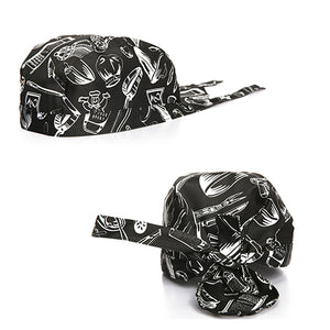 Pirates Chef Tableware Skull Kitchen Cap Professional Catering Various Chef Hat