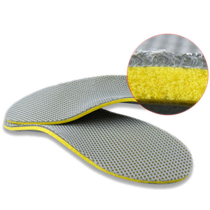 1 Pair Premium Comfortable Orthotic Shoes Insoles Inserts High Arch Support Pad