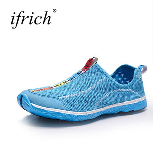 2019 Summer Sport Running Shoes Men Women Mesh Breathable Walking Jogging Sneakers Couples Lightweight Athletic Gym Shoes Men