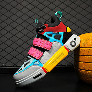 2019 new Stylish men and Women Running Shoes INS Ulzzang Harajuku Sneakers Breathable Sports Walking jongging Catwalk Footwear