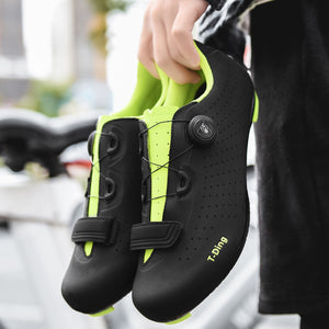 2020 Breathable Men Cycling Shoes MTB Mountain Bike Shoes Bicycle Racing Triathlon Athletic Shoes Sneaker Black Big Size Trainer