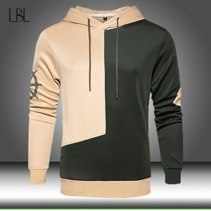 2020 New Pullover Hoodies Sweatshirt Men Autumn Winter Hooded Streetwear Hoody Man Military Patchwork Hoodie Tracksuit Sportwear