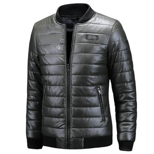 2020 New Warm Autumn Winter Leather Jacket Men Plus Size M~7XL 8XL Casual Mens Motorcycle PU Leather Jackets and Coats