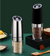 Homgeek Salt Pepper Mills Portable Automatic Electric Gravity Pepper Grinder Electric Pepper Grinder Kitchen Cooking BBQ Tools