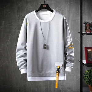 2020 Solid Color Sweatshirt Men Hoodies Spring Autumn Hoody Casual Streetwear Clothes