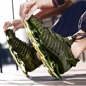 Men's Jogging Shoes Sock Sneakers Breathable Running Shoes Athletics Sport Sneakers Mesh Training Gym Shoes Male Sneaker Walking