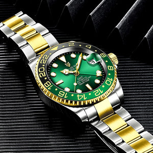 Mens Watches Top Brand Luxury LIGE Automatic Machinery Full steel Watch Men Fashion Casual Waterproof Clock Relogio Masculino
