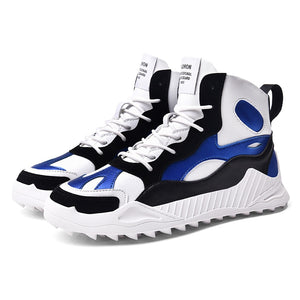 New Men Golf Training Shoes High Top Comfortable Spikeless Mens Golf Sport Sneakers Walking Jogging Shos for Men