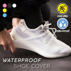 New Waterproof Shoe Covers Cycling Rain Reusable Silicone Elastic Anti-Slip Protection for Outdoor XD88