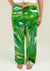 Ladies Pajama Pants with Tropical leaves