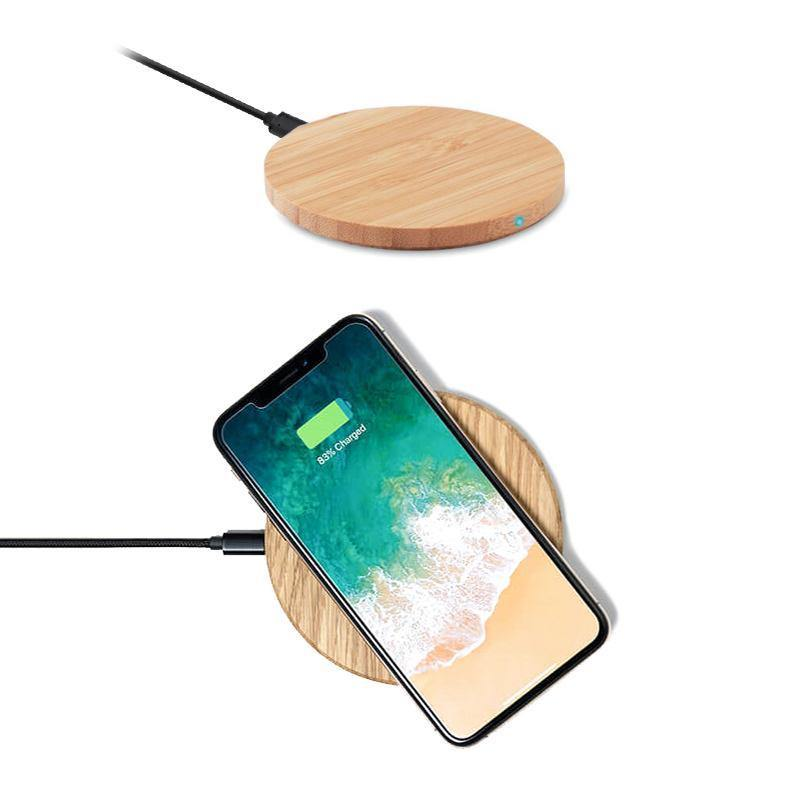 Caricabatterie Wireless in Bamboo 5W - Bamboo Green Store