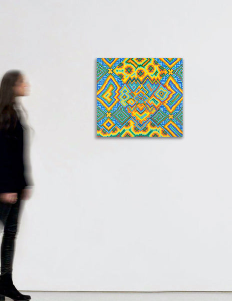 Untitled Grid Painting 3