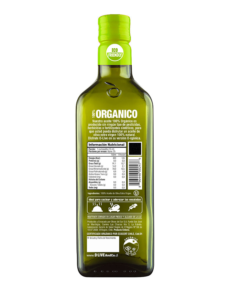 O-Live & Co. Orgánico 750ml