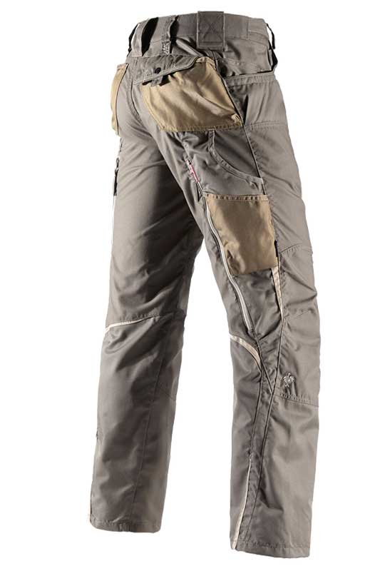 Bundhose e.s.motion Sommer – Venter Tours Edition in stein/khaki/sand, seitlich