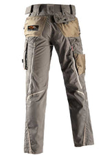 Laden Sie das Bild in den Galerie-Viewer, Bundhose e.s.motion Sommer – Venter Tours Edition in stein/khaki/sand, von hinten