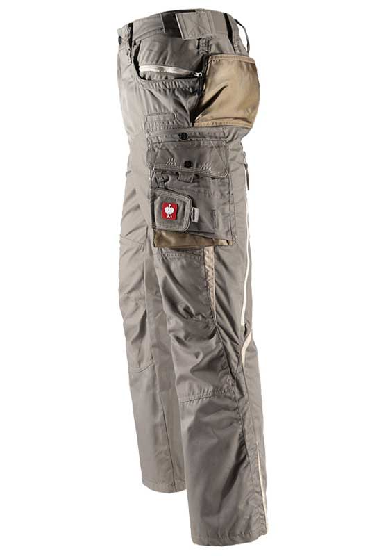 Bundhose e.s.motion Sommer – Venter Tours Edition in stein/khaki/sand, Seitentasche