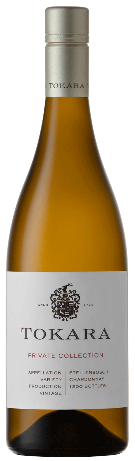 Weißweinflasche von Tokara Private Collection - Sorte Chardonnay 2019