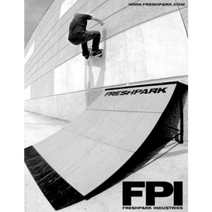 Freshpark 2.75ft Quarter Pipe