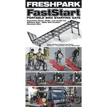 Load image into Gallery viewer, Freshpark BMX Fast Start BMX Starting Gate